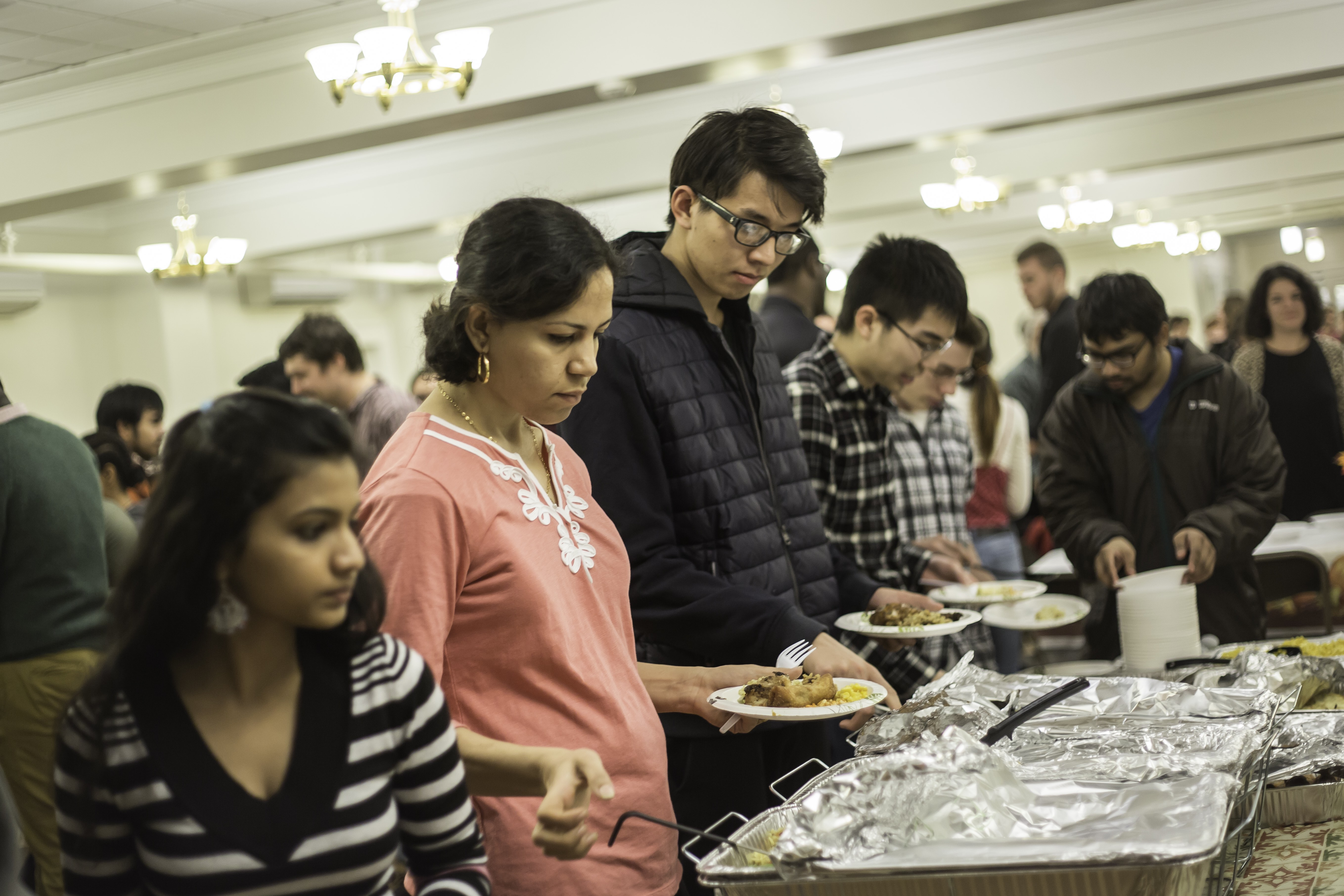 The Multicultural Thanksgiving was hosted by the Office Of Multicultural Student Life and Student Heritage Alliance Council on Thursday, Nov. 17 in Estabrooke Hall. STAFF Sze Wing Wong
