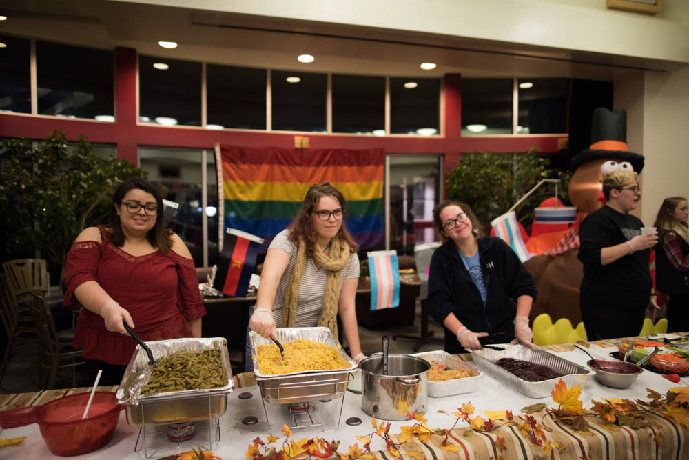 LGBTQ Thanksgiving dinner